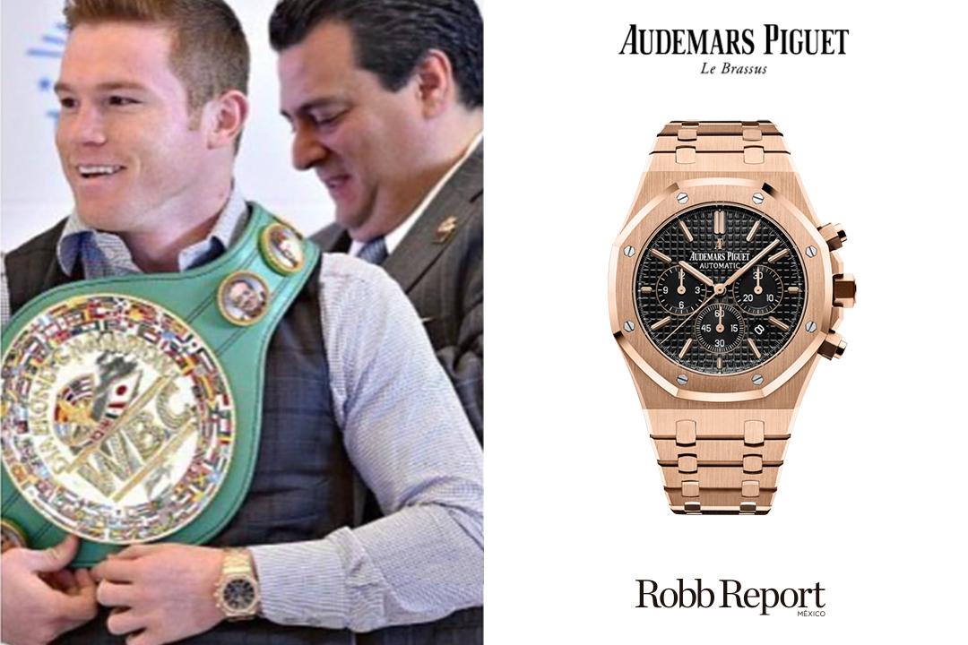 Canelo Audemars - Conoce los extravagantes relojes que usa Saúl Canelo Álvarez