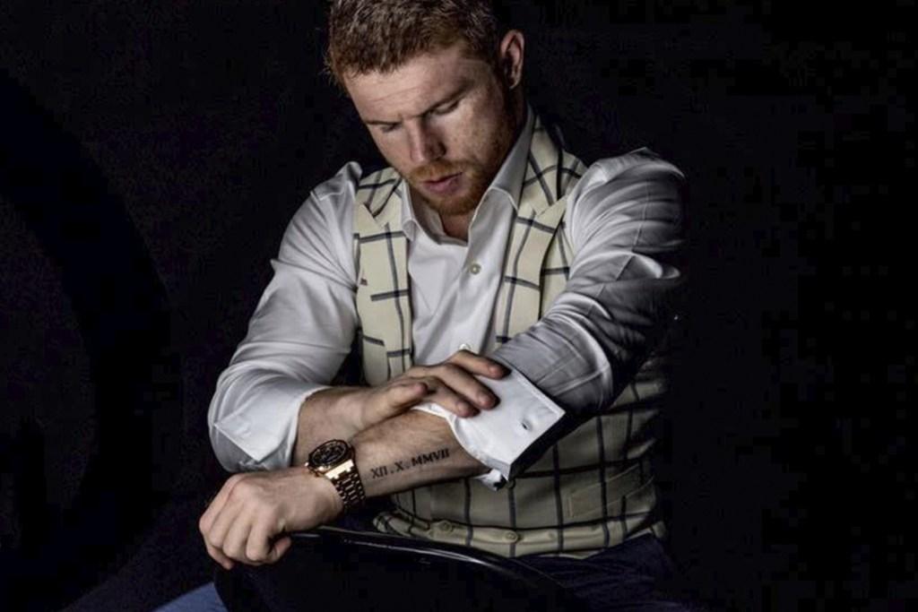 Conoce los extravagantes relojes que usa Saúl Canelo Álvarez