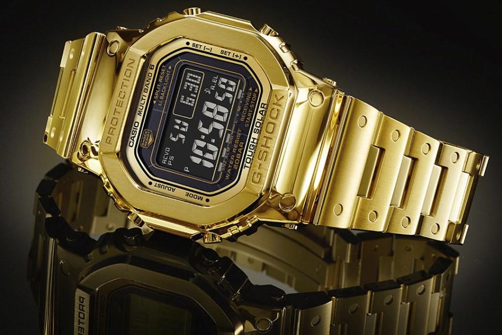 Casio lanza reloj de 18 quilates y no creerás el precio