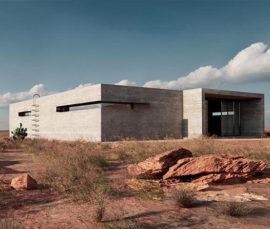 Este escondite en Nuevo México funciona 100% con energía solar