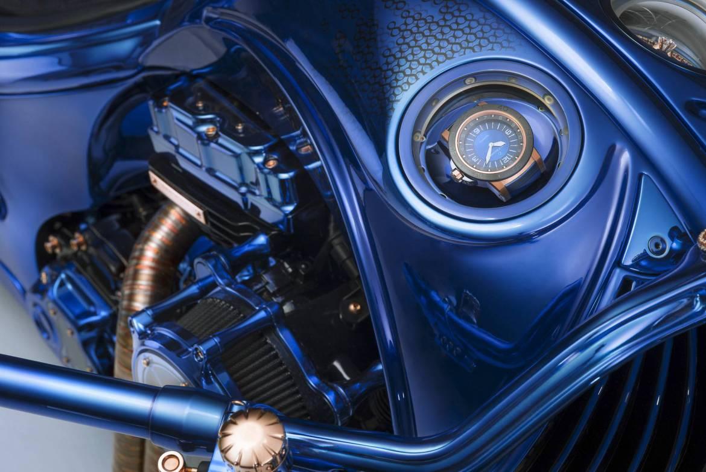 Emotion - Harley-Davidson Blue Edition, la moto de 2 millones de dls que amarás