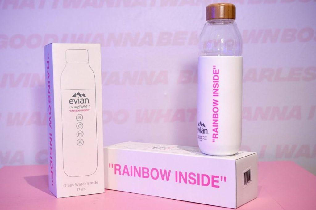 'Rainbow Inside' la nueva forma de tomar agua embotellada