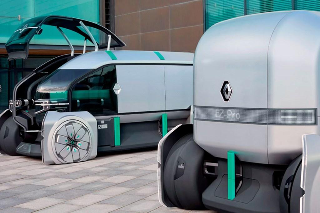 Renault busca combatir el tráfico con su nuevo concepto, EZ-PRO
