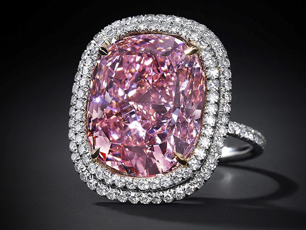 Christie's subastará el diamante rosa más grande de su tipo en la historia