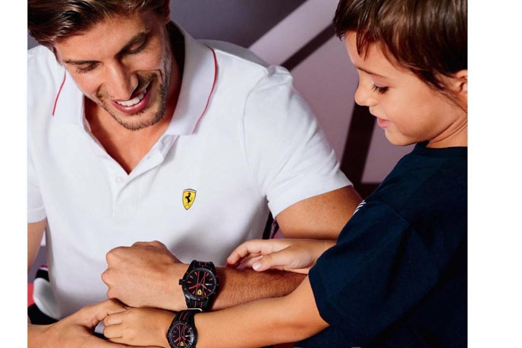 Fortalece tu relación de padre e hijo con la Scuderia Ferrari