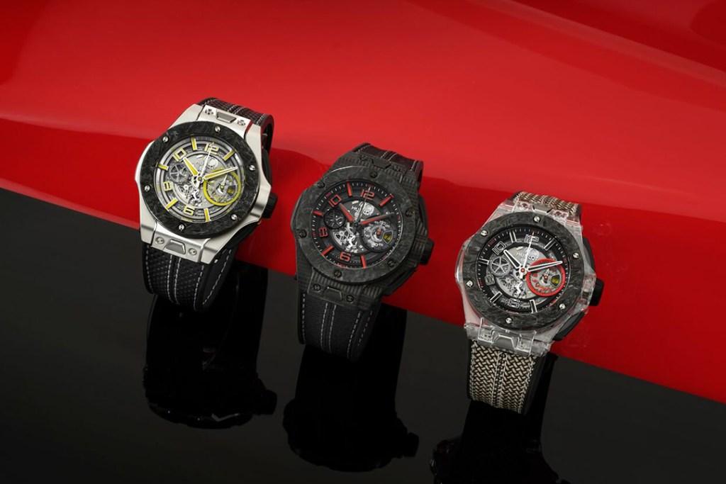 Ferrari celebra 90 años con Hublot, tres relojes de colección que necesitas tener