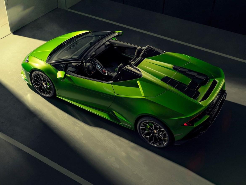 GAZ 2b24b88cdfe84d8b87c04875bb7098ca - El gran Huracán Evo Spyder 2020 de Lamborghini está aquí y totalmente renovado