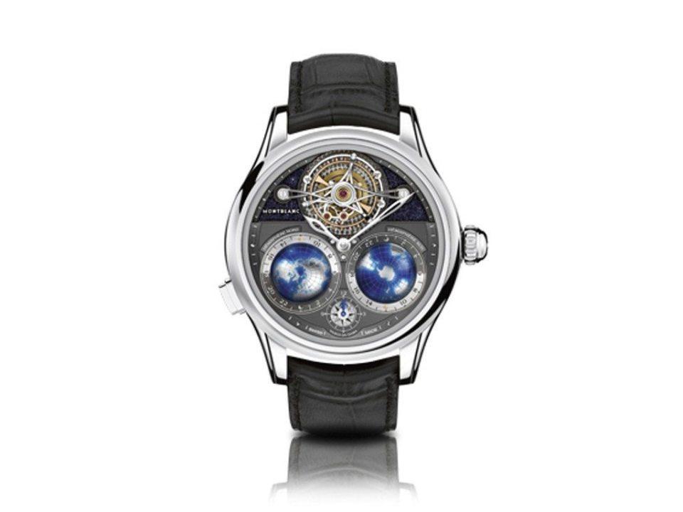 "Geosphres NightSky 1024x768 - Montblanc presenta nuevos relojes en la feria ""Watches and Wonders 2015"""