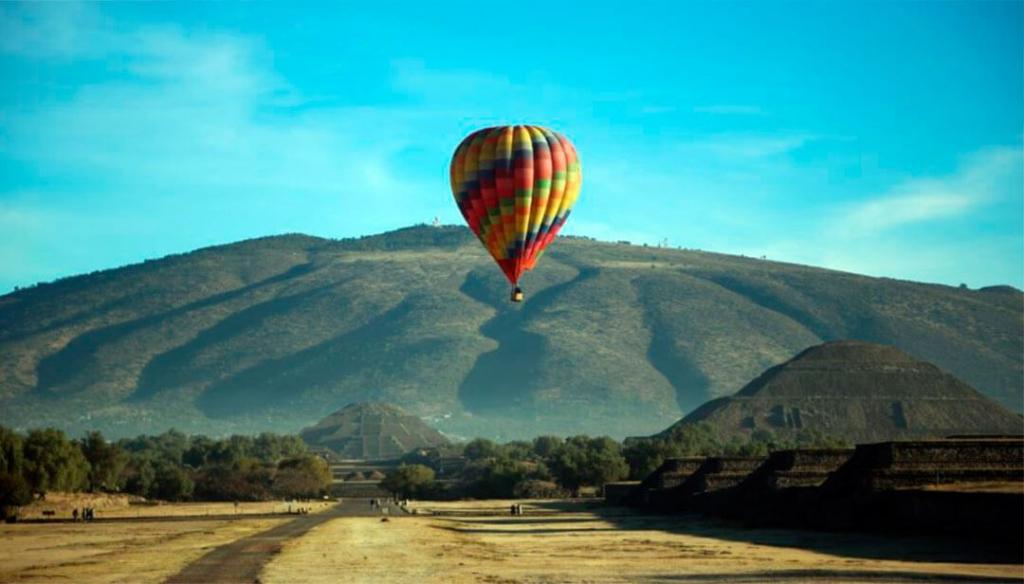 globos 1024x584 - Tres experiencias aéreas que puedes vivir en México