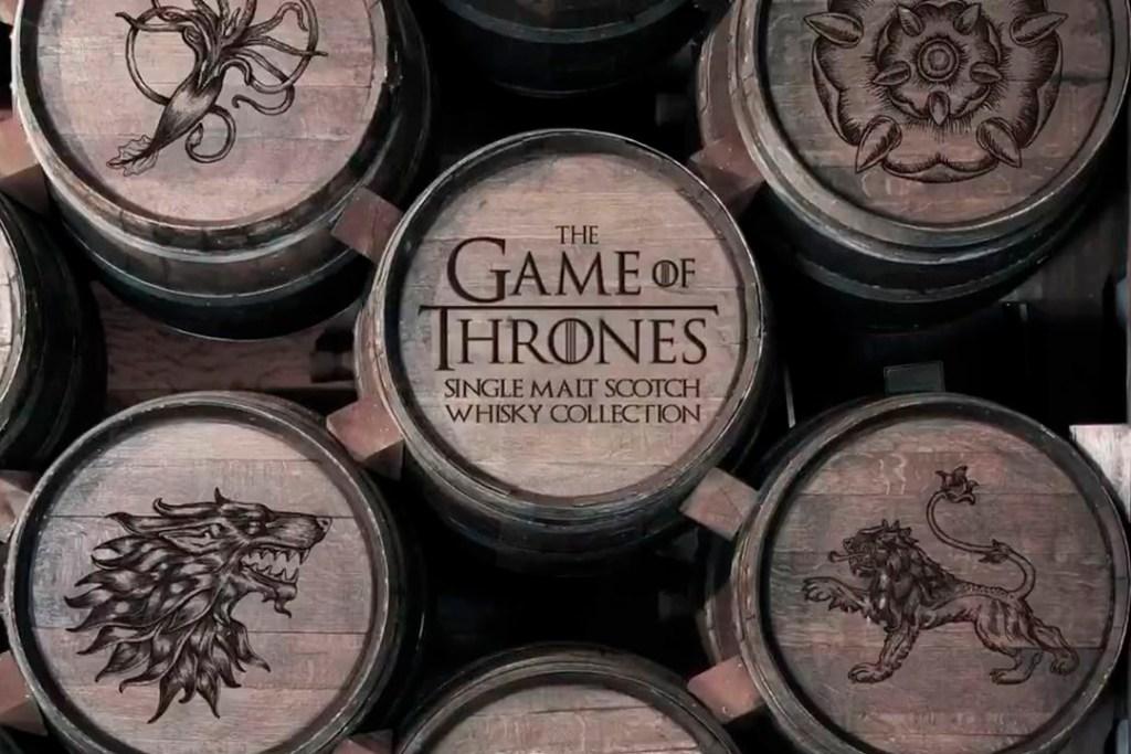 Esta colección de whiskies es la solución para sobrevivir a la última temporada de Game of Thrones
