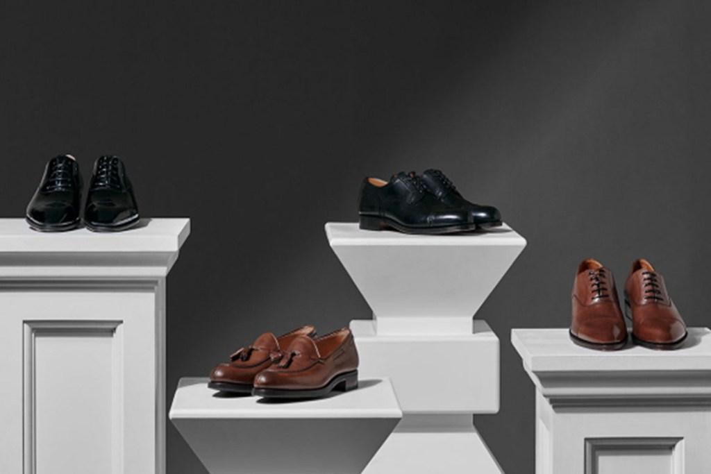 Cuatro pares de zapatos que gritan ¡Gentleman! by Hackett