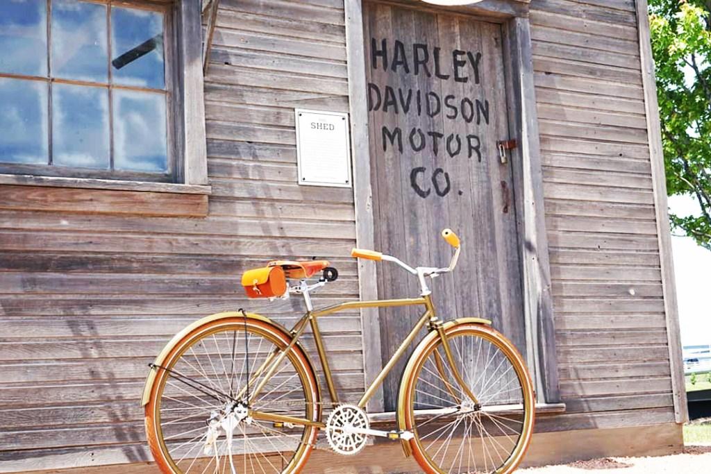 Si te encantan las bicicletas vintage, Harley-Davidson tiene esto para ti
