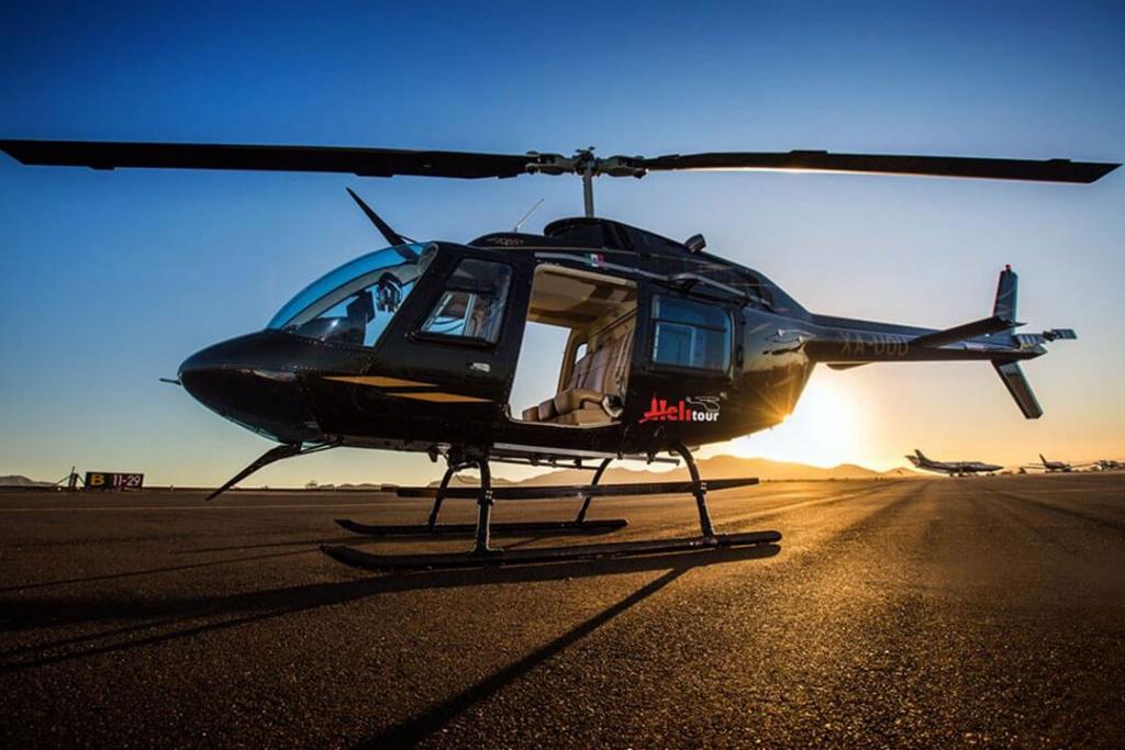 heli 1024x683 - Tres experiencias aéreas que puedes vivir en México