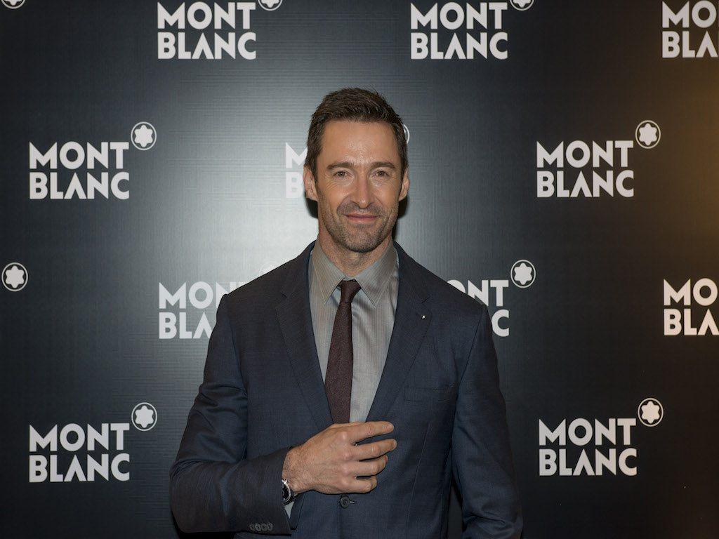 Hugh Jackman, embajador de Montblanc, asiste a la cena de Watches and Wonders