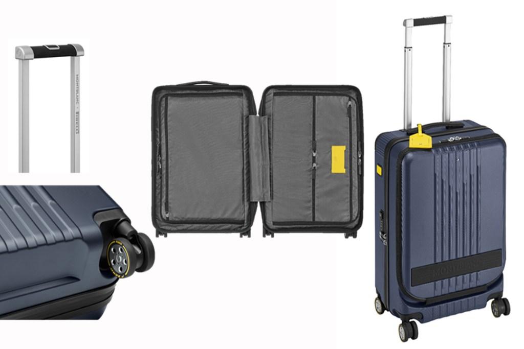 Añade este equipo de viaje Montblanc y Pirelli a tu colección