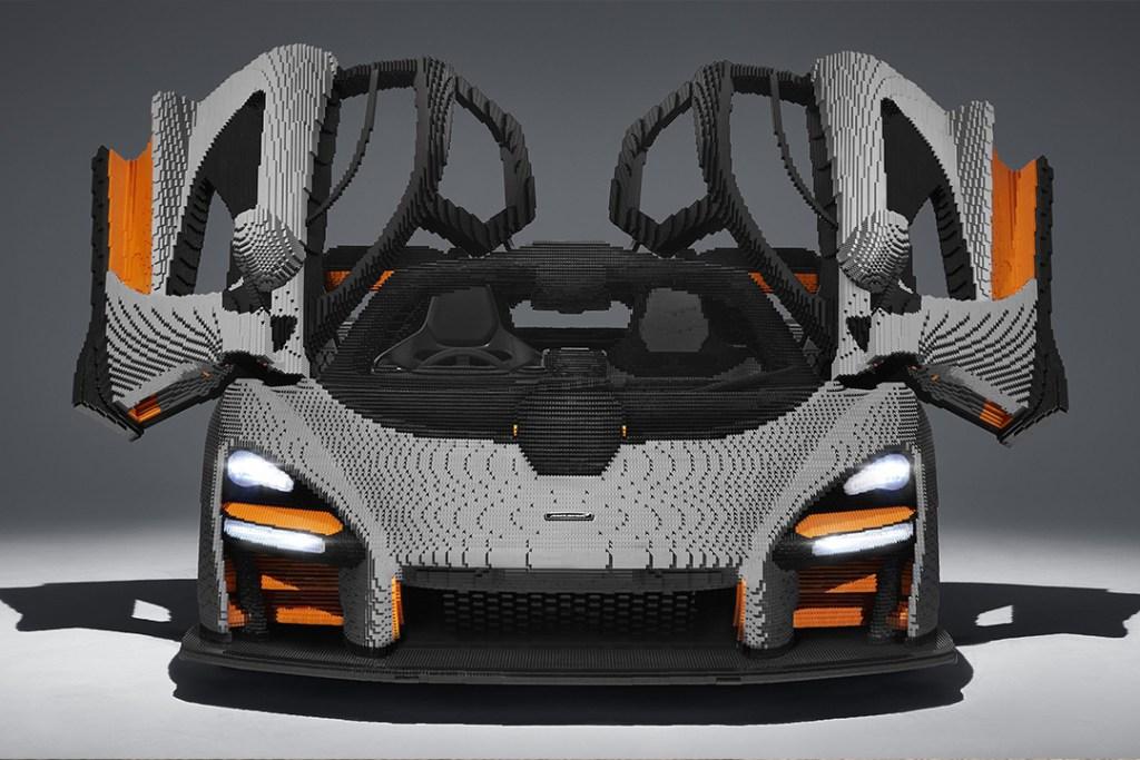 Este McLaren Senna tardó cinco mil horas en construirse con LEGO