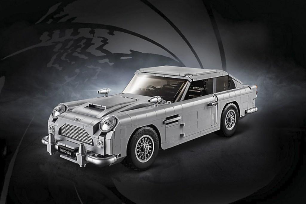 El legendario Aston Martin DB5 de James Bond puede ser tuyo gracias a LEGO