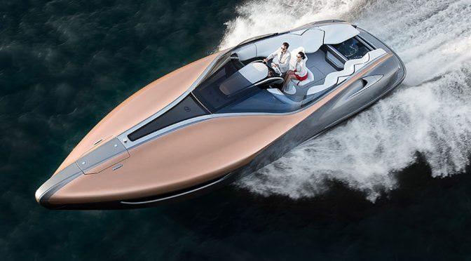 Lexus Sport Yacht Concept Featured image 672x372 - Lexus aumenta el tamaño de su yate concepto y quiere arrancar sobre las olas