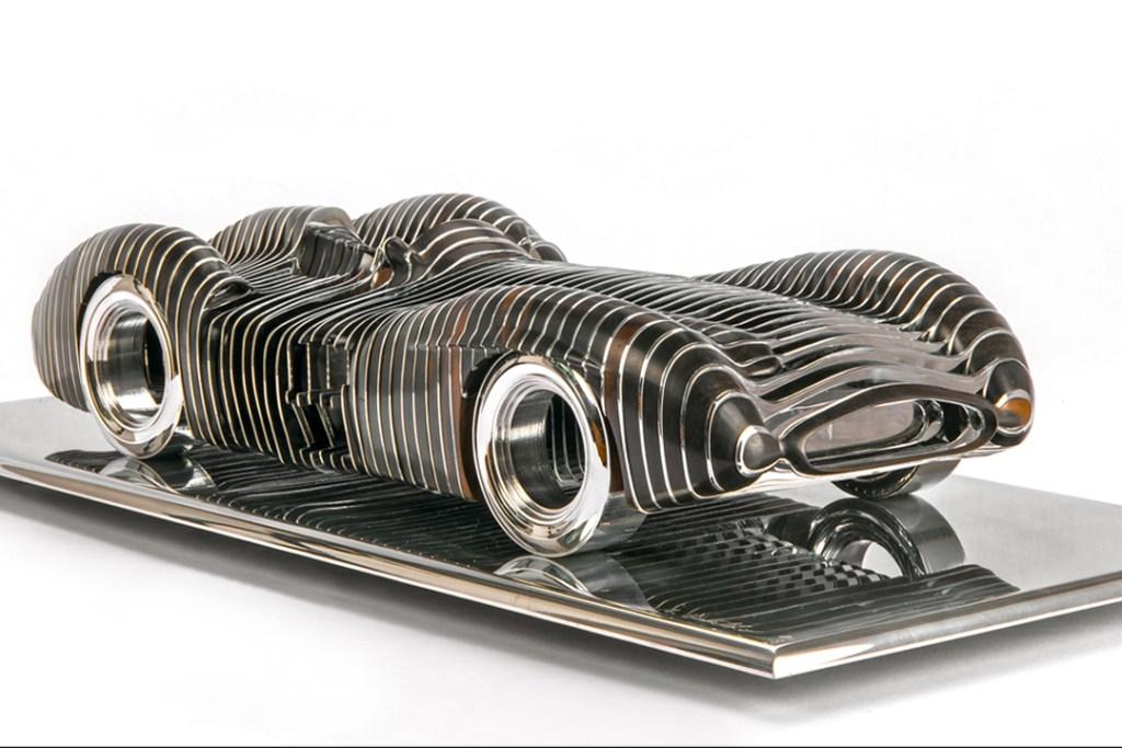 Icónicos modelos automovilísticos se vuelven obras de arte coleccionables