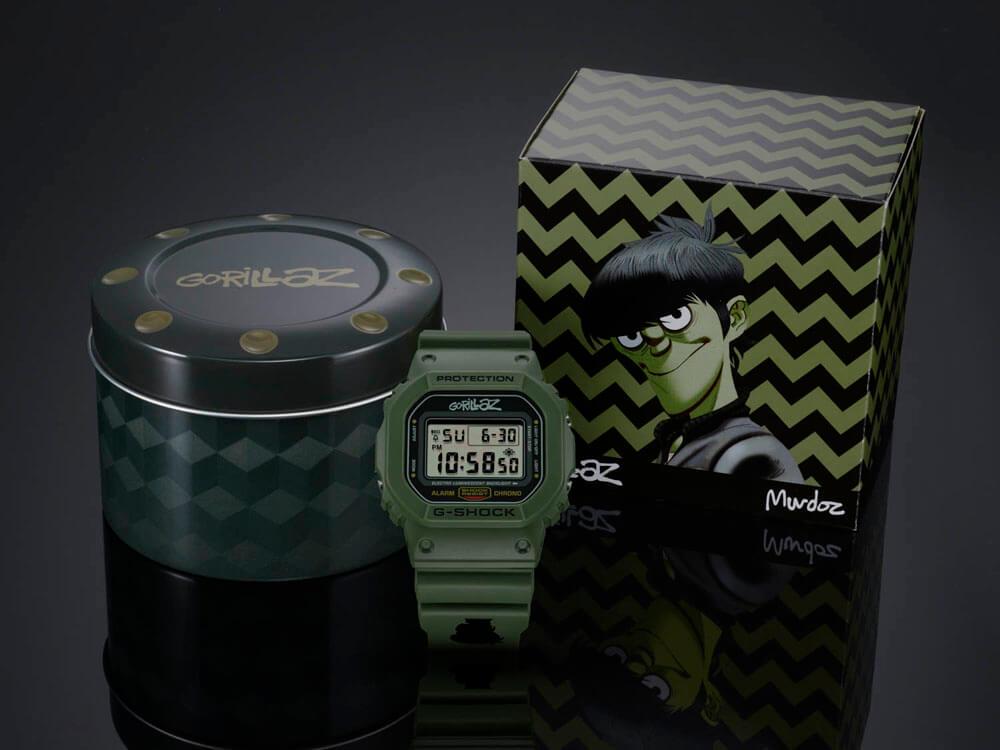MURDOC DW5600VT 1 - G-Shock presenta una edición especial en colaboración con Gorillaz