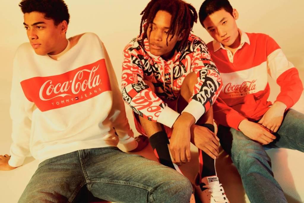 Tommy Hilfiger y Coca-Cola tienen la colección más millennial del momento