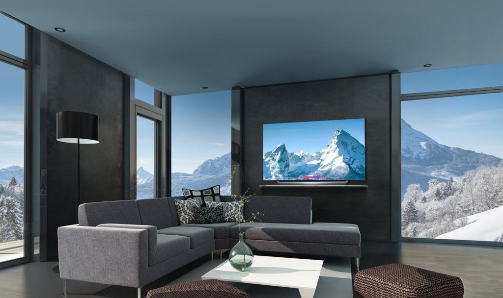 OLED65E8PTA OLED TVs 06 Design D 1024x608 - La plataforma de inteligencia artificial AI ThinQ llega a las pantallas de LG