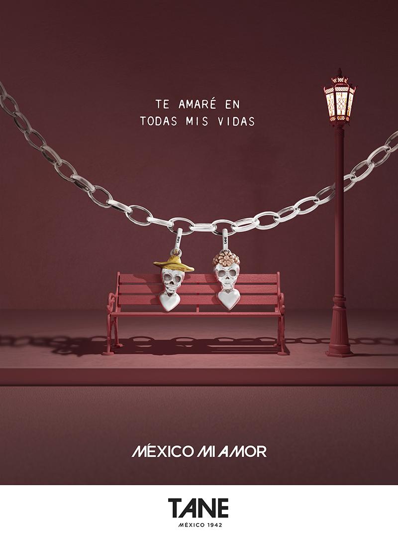 "PAREJA CHARMS FINAL - TANE tiene la joya ideal para representar ""México Mi Amor"""