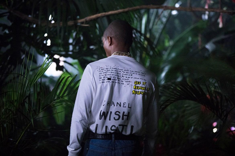 """parrel 1 - Pharrell nos pone """"happy"""" con su nueva línea en colaboración con Chanel"""