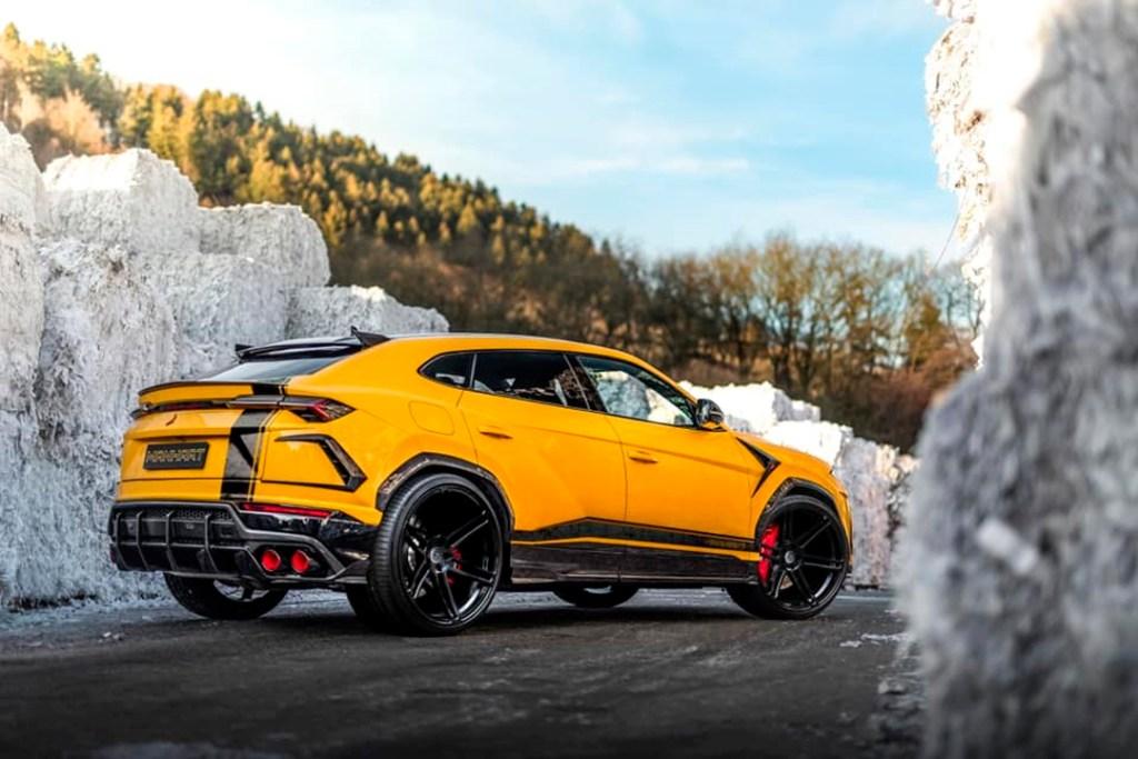 Esta Lamborghini Urus es más potente que un Aventador SVJ