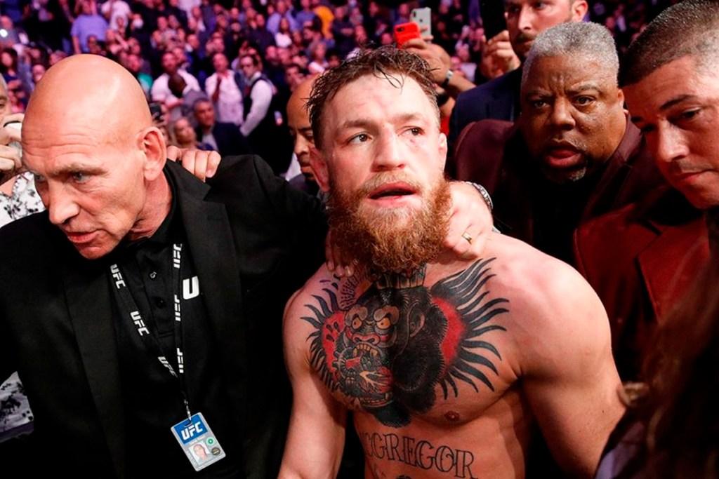 Esta trifulca en la UFC costó medio millón de dólares