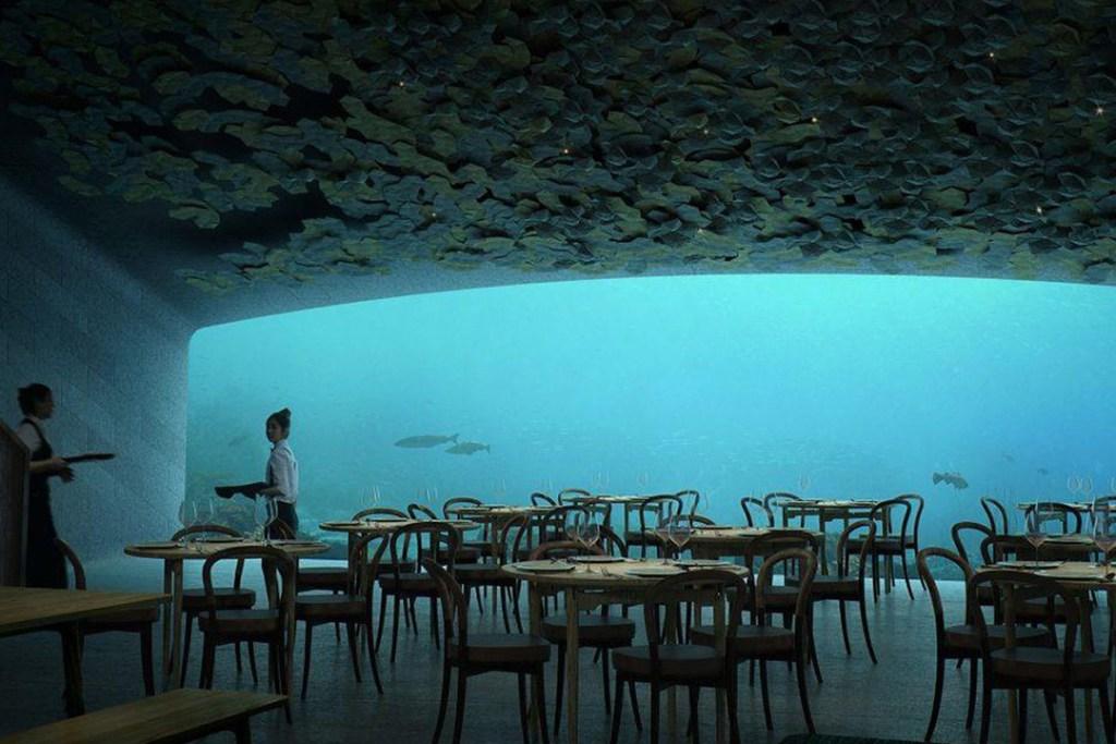 Noruega tendrá su primer restaurante submarino y vas a querer ir