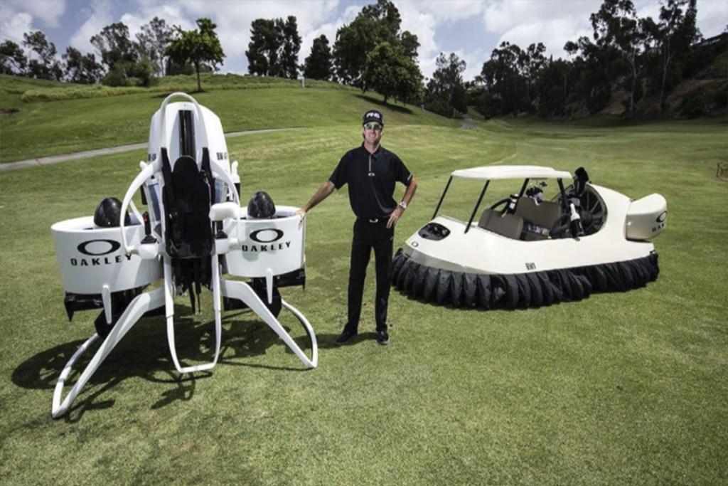 Éste podría ser el vehículo que saque de los campos de golf a los carritos eléctricos