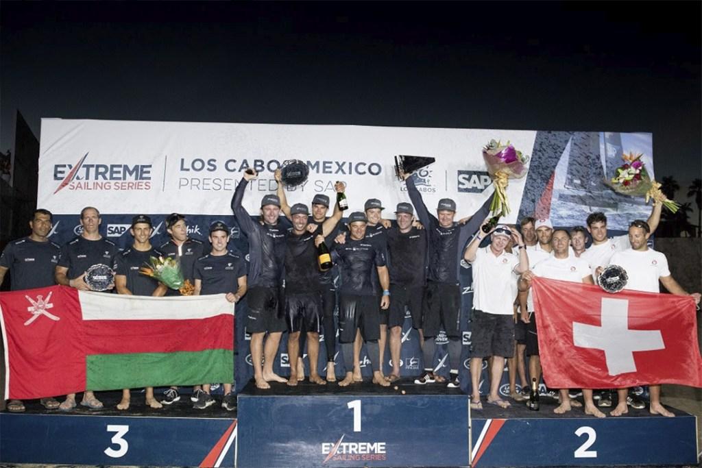 Así es como la tripulación danesa SAP ganó la temporada del Extreme Sailing Series 2017
