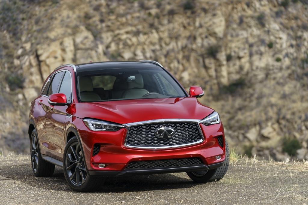 QX50 Photo Frontal 1 1024x683 - Estos son los SUV's deportivos que no pueden faltar en tu garage