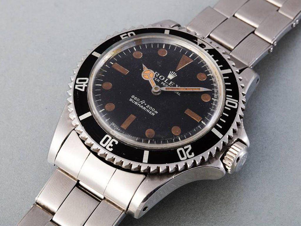 Rolex Submariner de James Bond será subastado por Phillips