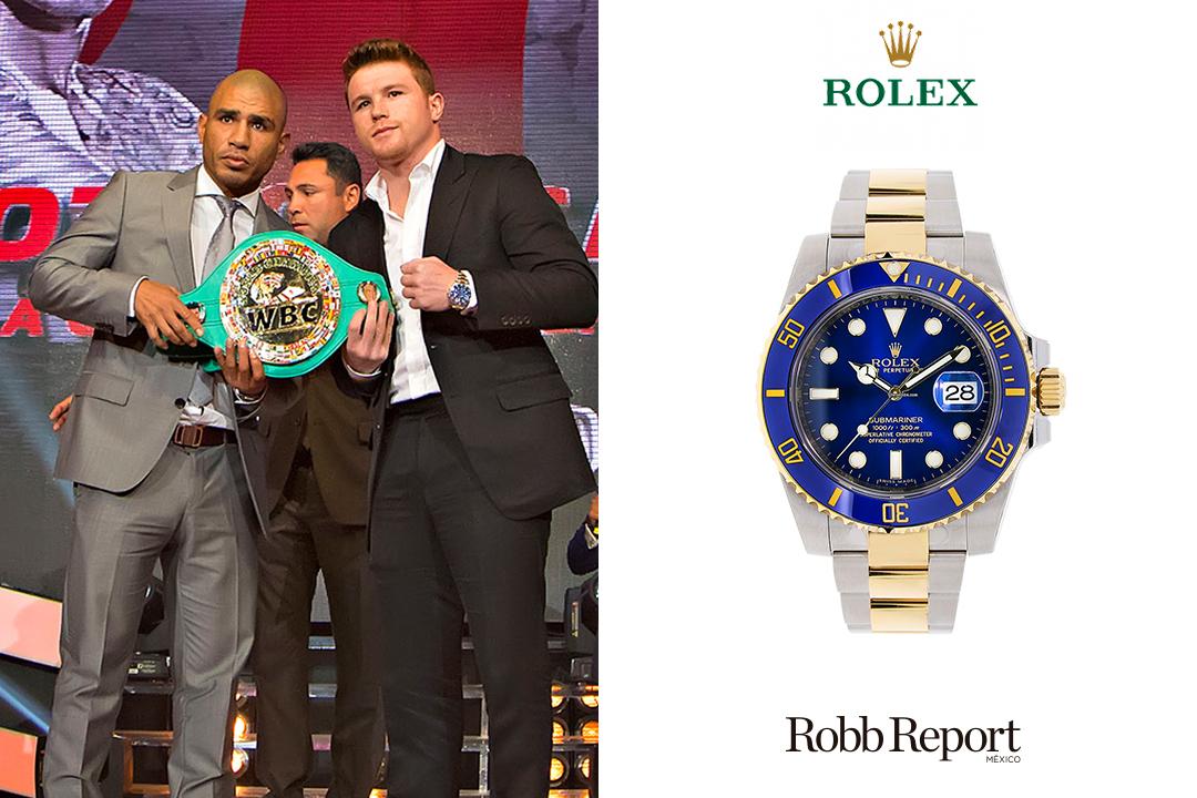 Rolex Canelo - Conoce los extravagantes relojes que usa Saúl Canelo Álvarez