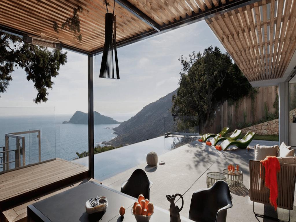 La casa con la mejor vista de Saint Tropez
