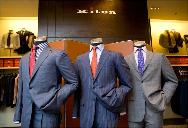 saks fifth ave kiton shop nyc 2009 2 - 5 exclusivas marcas de trajes para ti