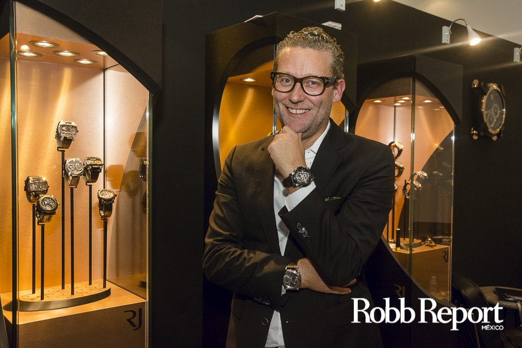 Manuel Emch, el genio detrás de Romain Jerome