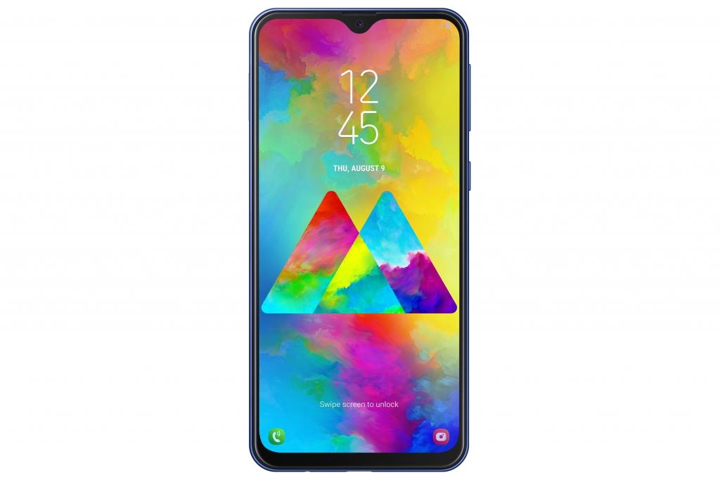 SM M205F 001 Front Ocean Blue 1024x683 - Samsung Galaxy M, la nueva serie dirigida a los millennials