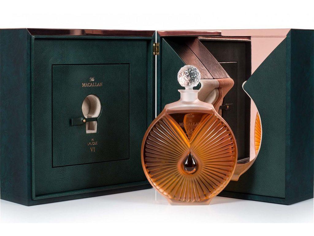 El último pilar está listo: The Macallan Lalique Peerless Spirit