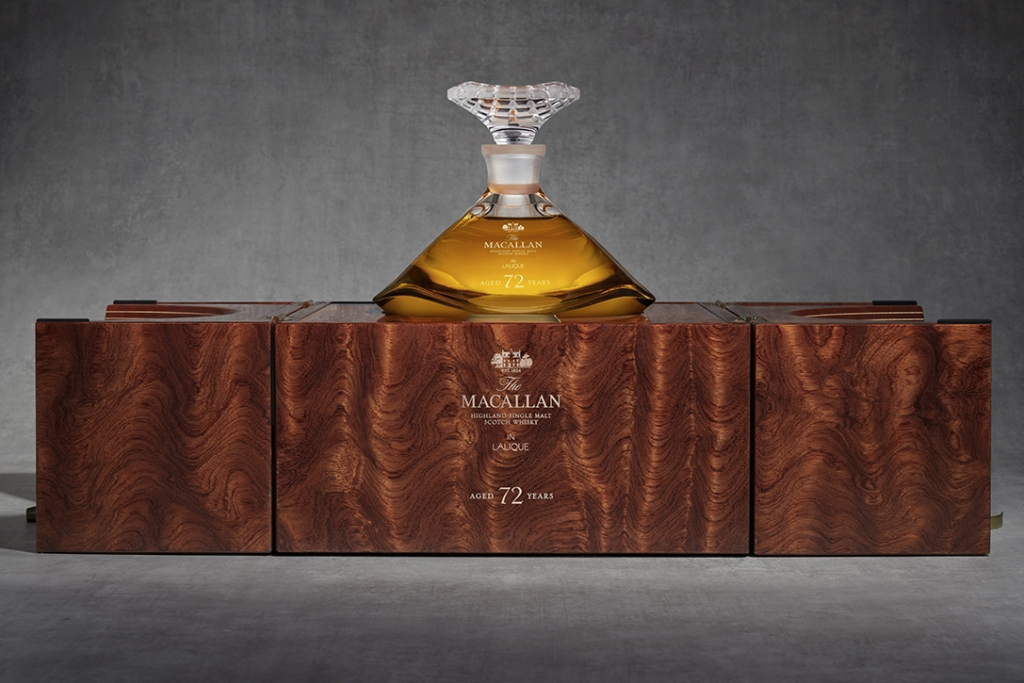 The Macallan 72 Year Aged Single Malt 00 1024x683 - Genesis Decanter, el whisky de 72 años que solo probarás una vez en vida