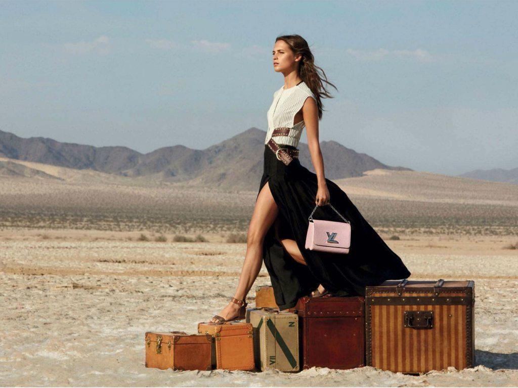 Un roadtrip de lujo con Louis Vuitton