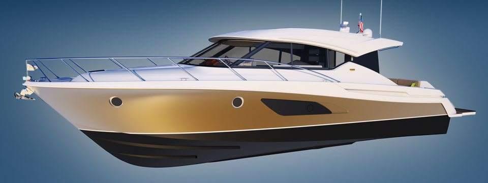 Tiara 44, el yate con estilo clásico y alta tecnología