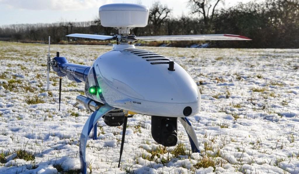HEF 32, un drone único