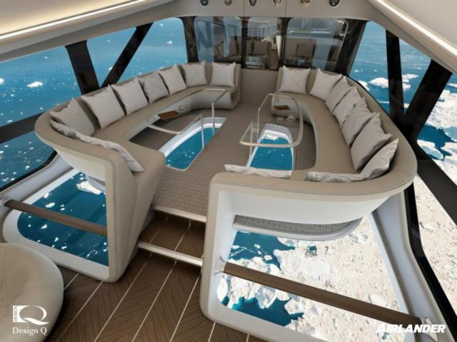 vistas - Airlander 10, la nueva aeronave de ultralujo con la que le darás un descanso a tu jet