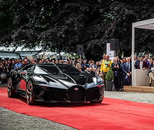 Bugatti La Voiture Noire, el auto más bonito del 2019