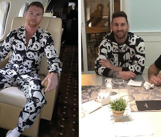 La prenda favorita de «El Canelo» y Messi es cortesía de Dolce & Gabanna
