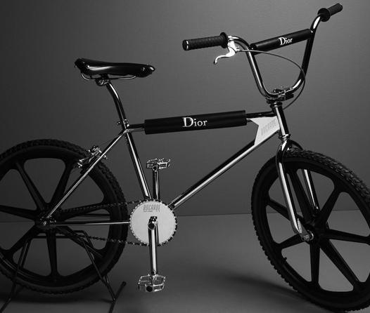 La bicicleta BMX de Dior hará que hacer deporte tenga mucho estilo