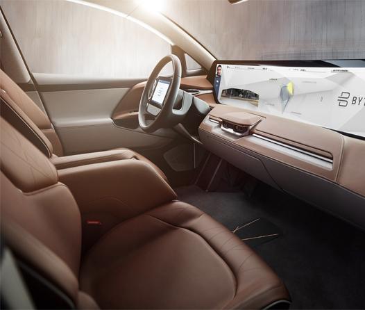 Byton es el auto eléctrico ideal para pasar horas en el tráfico